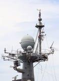 Statek używać radar wykrywać Obrazy Royalty Free