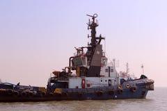 Statek w Arabskim morzu Zdjęcia Stock