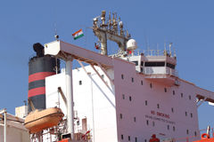 Statek w Arabskim morzu Fotografia Royalty Free