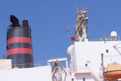 Statek w Arabskim morzu Zdjęcie Stock
