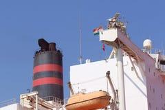 Statek w Arabskim morzu Obrazy Stock