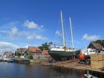 Statek w Dockyard Fotografia Royalty Free