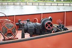 Statek w porcie Fotografia Stock