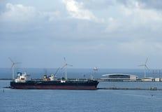 statek w prt Cearà ¡ w Fortaleza obraz royalty free