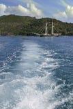 Statek w Whitsundays Zdjęcie Royalty Free