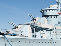 statek wojenny Zdjęcie Stock