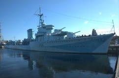 statek wojenny Zdjęcia Stock