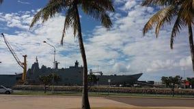 Statek wojenny Zdjęcia Royalty Free