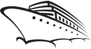 statek wycieczkowy Royalty Ilustracja