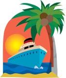 statek wycieczkowy Obraz Stock