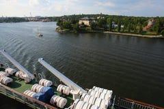 Rejsu żeglowanie w Stockholm Fotografia Royalty Free