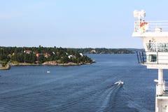 Rejsu żeglowanie w Stockholm Zdjęcia Royalty Free