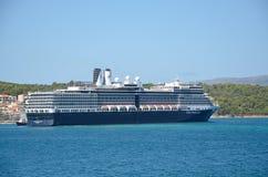 Statek wycieczkowy Holandia Ameryka linia Zdjęcia Royalty Free