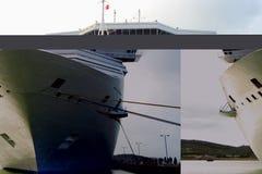statek wycieczkowy karaibów Obrazy Stock