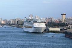 statek wycieczkowy karaibów obraz stock
