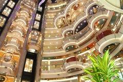 Statek wycieczkowy luksusu wnętrze Fotografia Stock