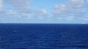 Statek Wycieczkowy na Atlantyckim oceanie Zdjęcie Royalty Free