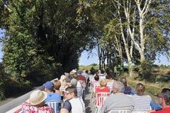 Statek wycieczkowy na kanale du Midi Obrazy Royalty Free