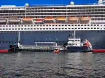 Statek Wycieczkowy Refueling, Kółkowy Quay, Sydney schronienie, Australia zdjęcia royalty free