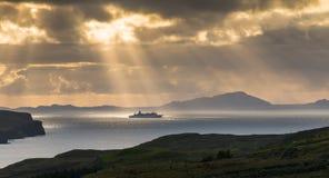 statek wycieczkowy słońce Fotografia Royalty Free