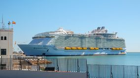 Statek wycieczkowy symfonia morza Obraz Stock