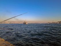 Statek Wycieczkowy w Bosphorus Istanbuł zdjęcie stock