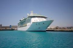 Statek Wycieczkowy w Porcie Zdjęcie Royalty Free