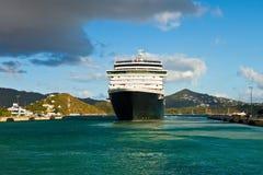 Statek Wycieczkowy w St. Thomas Zdjęcie Stock