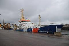 Statek wymieniający ` Barend Biesheuvel ` na egzekwowanie statku zdjęcia royalty free
