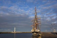 statek wysoki stavros Obrazy Royalty Free