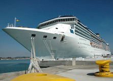 statek zacumował rejs Zdjęcie Royalty Free