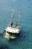 statek zapadnięty Obrazy Royalty Free