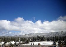 Stateline, Nevada. Scenery of Mountains and Trees in Stateline, Nevada Royalty Free Stock Image