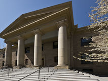 Stately courthouse architecture Royalty Free Stock Photo