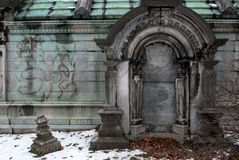 Stately Crypt Stock Photo
