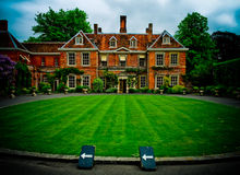 Stately English Home Stock Photos