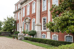Stately Georgian mansion Royalty Free Stock Photo