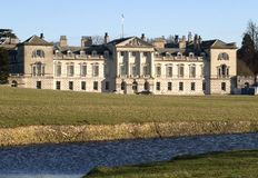Stately Home. View of Woburn Abbey Stock Images