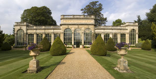 Stately home stock images
