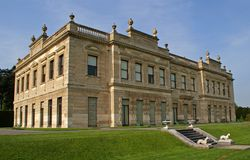 Stately Home. Photograph of an English 19th Century Stately Home, Brodsworth, South Yorkshire royalty free stock images