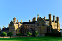 Stately home. Batsford house country mansion cotswold cotswolds gloucestershire England English uk gb millionaire billionaire aristocracy nobility wealth wealthy Royalty Free Stock Images