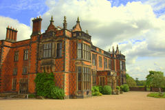 Stately home in Cheshire, England. Historic building of Arley Hall in Cheshire, England Royalty Free Stock Image