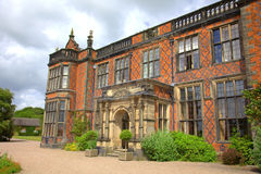 Stately home in Cheshire, England. Historic builing of Arley Hall in Cheshire, England Stock Photography
