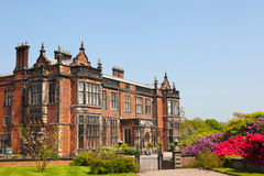 Stately home in Cheshire, England Royalty Free Stock Photos