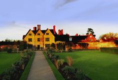 Stately home. Country house,,country house, ancient, aristocracy, britain, british, day, england, english, great, heritage, home, homes, house, houses, kingdom stock photography