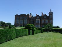 Stately Home. English Stately Home stock image