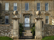 Stately Home Exterior. Exterior View of a Stately Home stock images