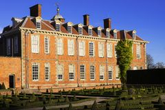 Stately home. Hanbury hall stately home Mansion country house home property real estate millionaire billionaire grounds estate history heritage tourism nobility royalty free stock photos