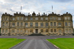 Stately Home. Longleat, UK - August 15, 2014: View of Longleat House. Longleat House is an English stately home and the seat of the Marquesses of Bath. The house Royalty Free Stock Image