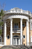 Stately Mansion. The entrance of a grand old mansion Royalty Free Stock Photography